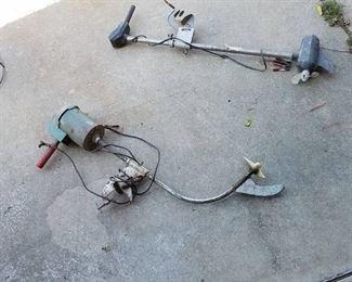 two trolling motors