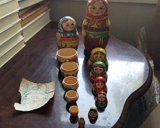 Russian nesting dolls - Babushka dolls