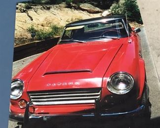 This beauty has only had one owner and now he is letting go of this beauty.  A 1969 Datsun Hard top Convertible.