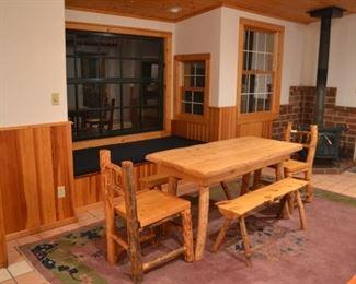 Lodge Pine Table