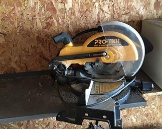 """Pro-Tech 10"""" Compound Miter Saw"""