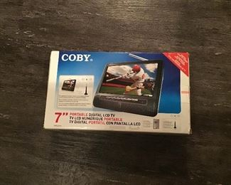 Portable TV still in original box