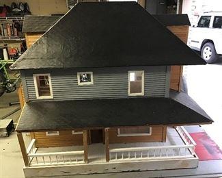 Custom built huge dollhouse.