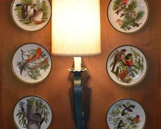 Audubon  plates - set of twelve - six shown here