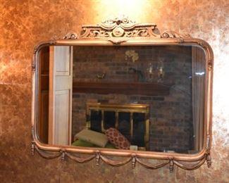 Gorgeous Art Nouveau mirror in original condition