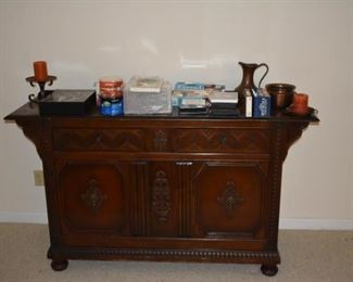 Antique buffet - could be bar!