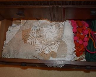 Hand made linens