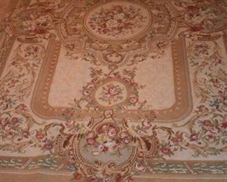 Oriental rug - needlepoint
