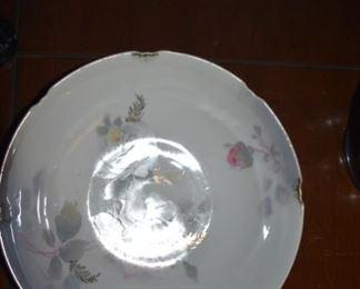 Four fruit porcelain fruit bowls - excellent condition - all German - pre-World War 1
