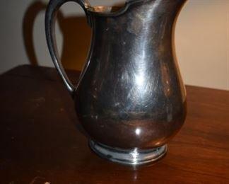 Quadraplate silverplate pitcher - circa 1920