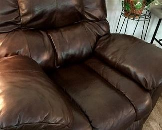 AND...A Matching La-Z-Boy Leather Recliner!...
