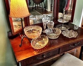 Now...This Is Everything!...A Beautiful Tri-Mirror Dressing Table...I don't Think This Will Last Long!...