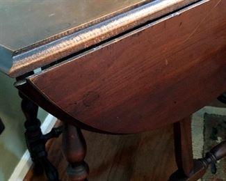 Several Drop Leaf Side Tables...