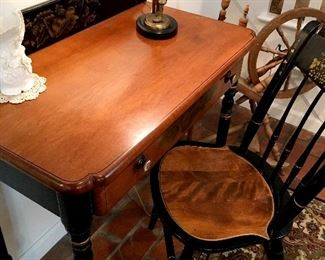 Speaking Of Fab...Yep...We Have A Hitchcock Writing Desk...and Chair!...