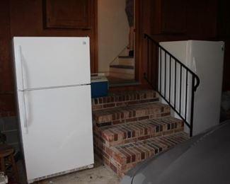2 Upright Freezers