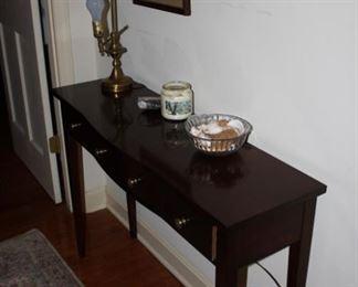 Mahogany Sofa Table