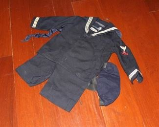 Child's Navy Outfit