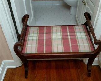 hallway stool