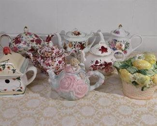 Group Of Tea Pots