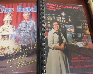 Signed cookbooks.