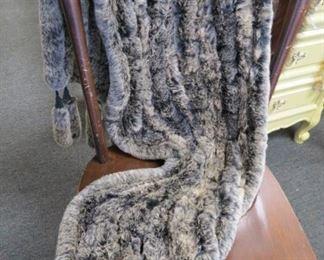 100% rabbit shawl.