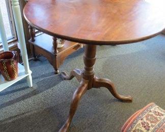 Antique tilt top table.