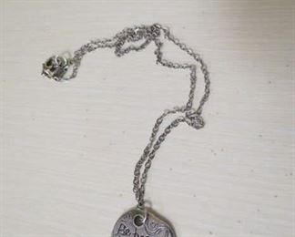 Sundance catalog, Jes MaHarry sterling necklace.