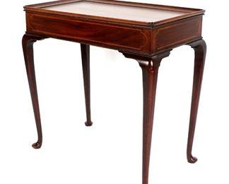 18th Century New England Mahogany Game Table