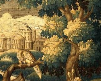 18th19th Century Continental Landscape Tapestry