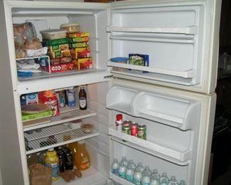 nice clean refrigerator inside