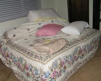 extra nice clean bed