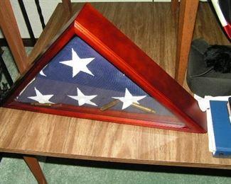 military  burial flag