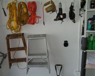 power cords & tools