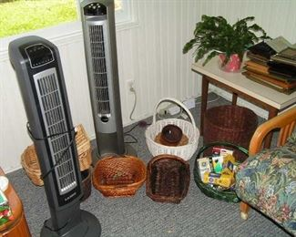 baskets & air cleaners
