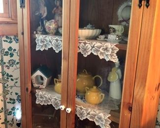 Cabinets & hutches with porcelain