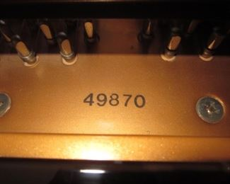 D. H. Baldwin Small Baby Grand Piano 49870 C142 Manufactured By Samick