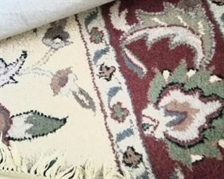 Several large carpets