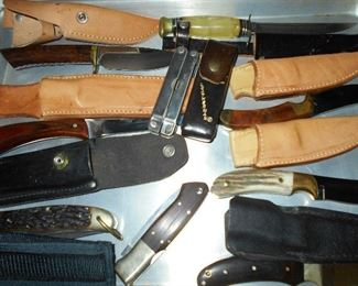 LOTS of fabulous collectible knives