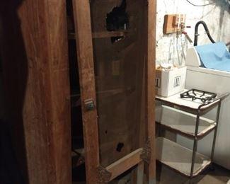 Early screen cabinet door