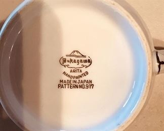Fukagawa China Pattern 917