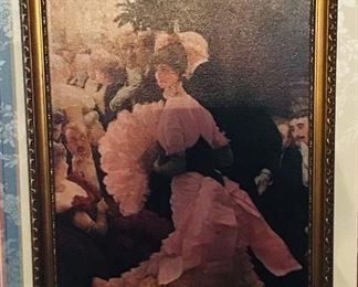 Le Reception L'Ambitieuse by James Jacques Tissot
