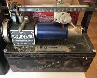 THE DICTAPHONE COLUMBIA, GRAPHOPHONE