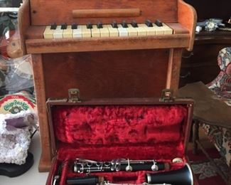 Child's Piano and Clarinet.
