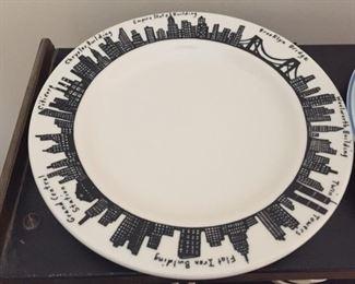 New York City Plate.