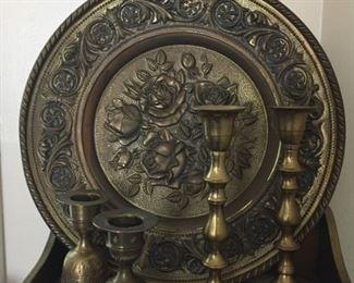 Brassware.