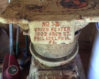 Vintage Union Heater.