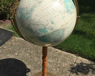 Standing Globe.
