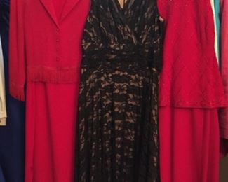 Beautiful Selection of Women's Dress and Gowns - size large.