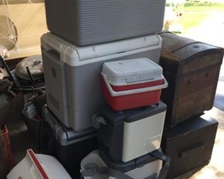 Selection of Coolers.