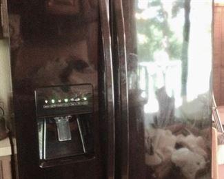 2013 Kenmore Black Refrigerator